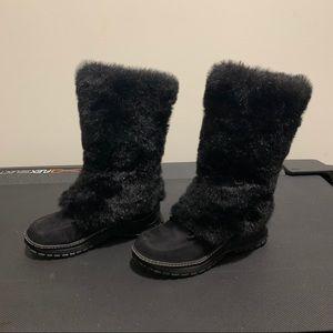 Vintage Transit Faux fur warm Boot